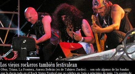 Obús, entre los grupos que actuarán en este festival jienense
