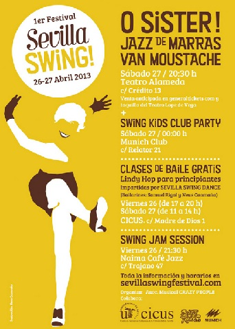 Primer festival de Swing en Sevilla