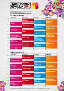 Cartel de horarios