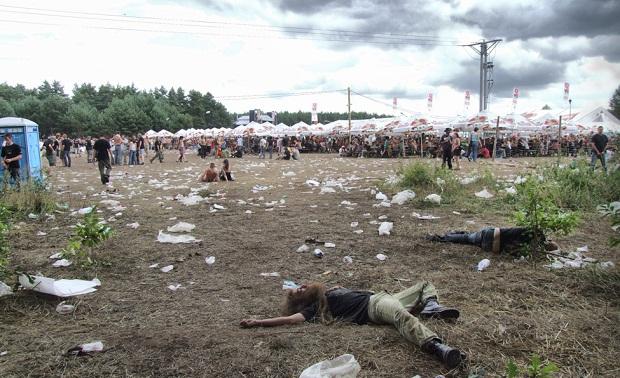 resaca de festival