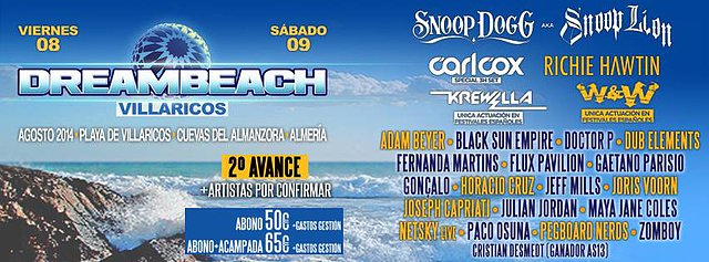 Dreambeach Villaricos 2014
